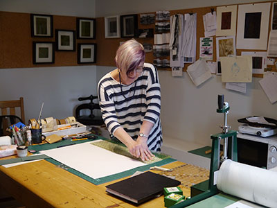 Elizabeth Shorrock studio